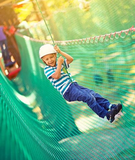 go ape zipline boy Father's Day