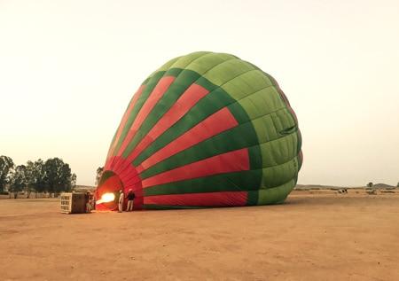 Iberostar Club Palmeraie hot air balloon