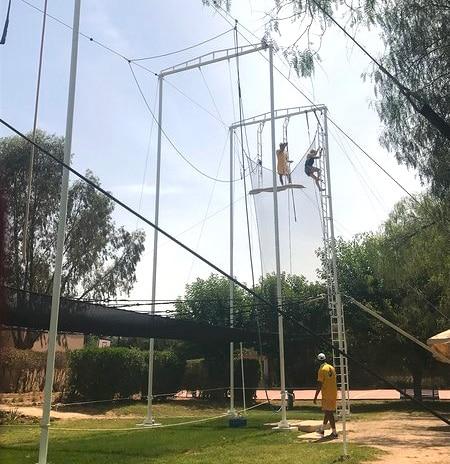 Iberostar Club Palmeraie trapeze