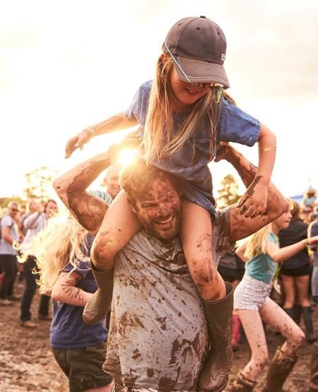 Muddy fun at Deer Shed Festival York