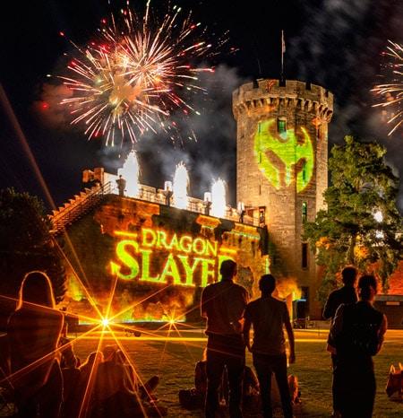 Dragon Slayer light show