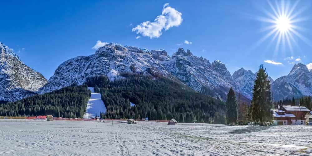 Sappada, Friuli Venezia Giulia: one of the prettiest resorts in the Dolemites