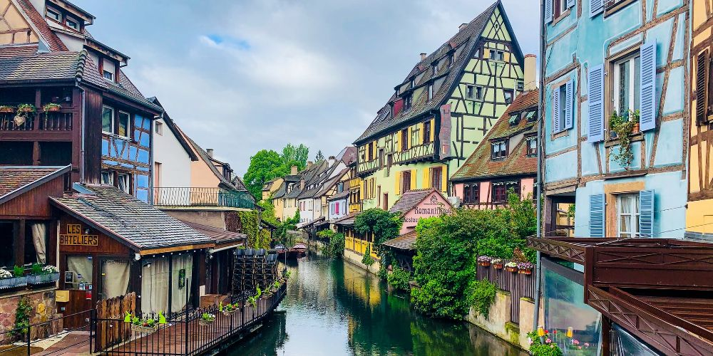 vColmar in France is one of the fairy tale European destinations to visit with kids