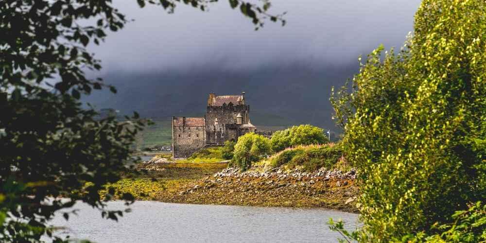 fairy tale European destinations Eilean Donan Castle Scotland