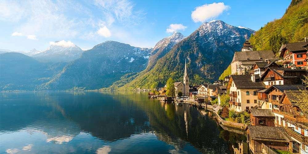fairy tale European destinations Halstatt Austria