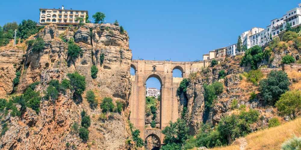fairy tale European destinations Ronda Andalusia Spain