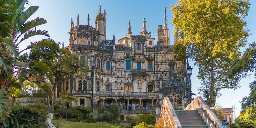 fairy tale European destinations Sintra Portugal