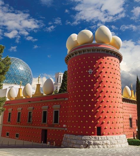 Gaudi architecture, Costa Brava
