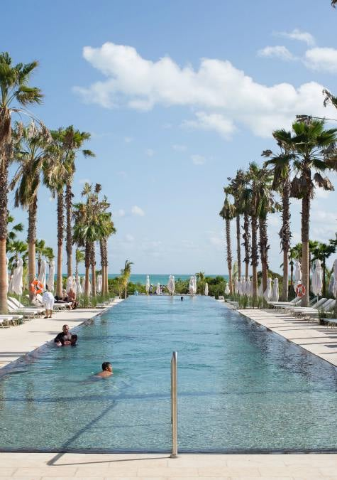 Yucatan family holiday, outdoor pool, Grand Palladium Costa Mujeres Resort & Spa