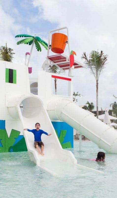 Yucatan family holiday, outdoor children's pool at Grand Palladium Costa Mujeres Resort & Spa