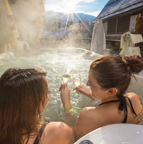 Family holiday in Austria, spa Therme Aqualux