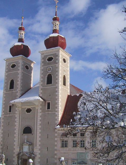 Family holiday in Austria, Benedictine monastery