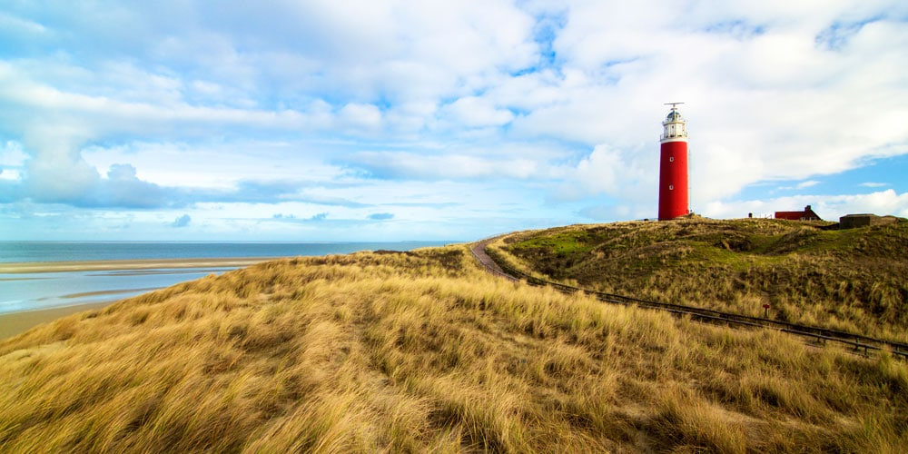 Lighthouse Texel in Holland