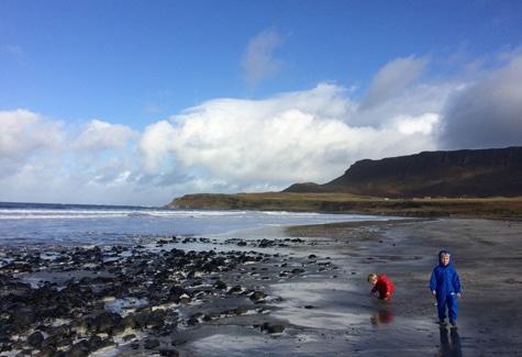Fun at The Isle of Eigg