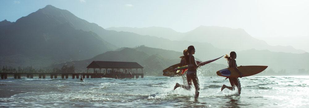 Family holidays in Hawaii