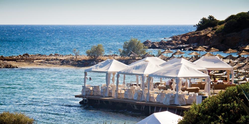 Yali, waterfront cabanas restaurant