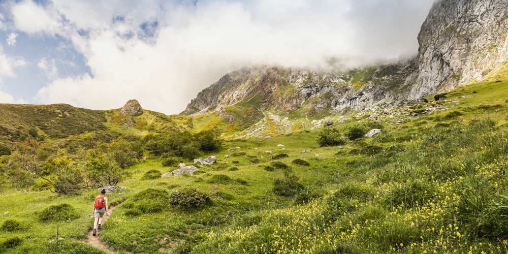 Best family destinations in Spain, hiking in Picos de Europa National Park