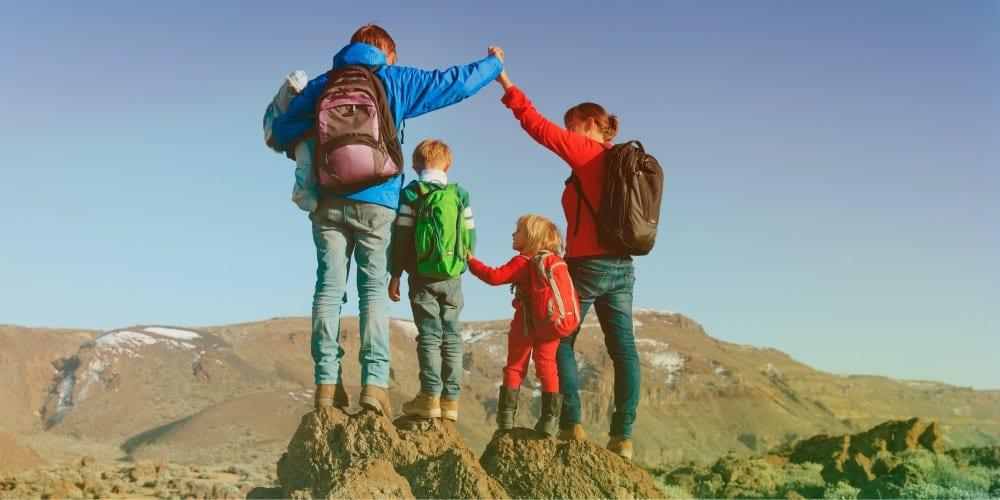 Best family destinations in Spain, family climb Mount Teide, Tenerife