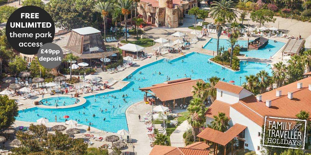 Port Aventura El Paso - family holiday deals