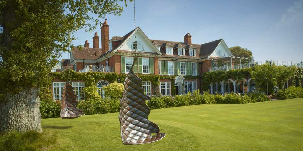 Top UK family hotels for late summer breaks with kids Chewton Glen Hotel Hampshire