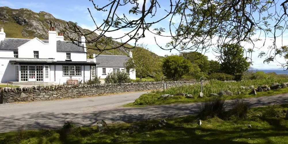 Top UK family hotels for late summer breaks with kids Colonsay Hotel Scotland
