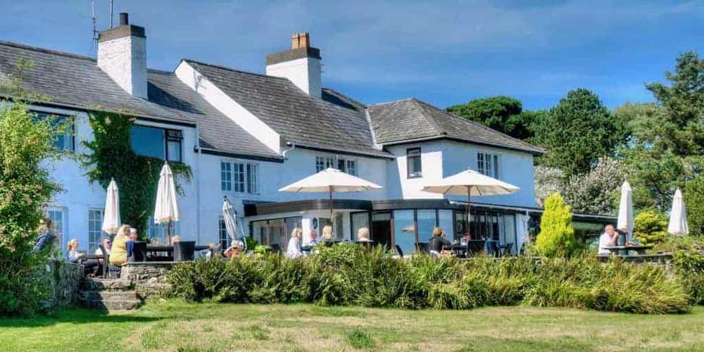 Top UK family hotels for late summer breaks with kids Porth Tocyn Hotel West Wales