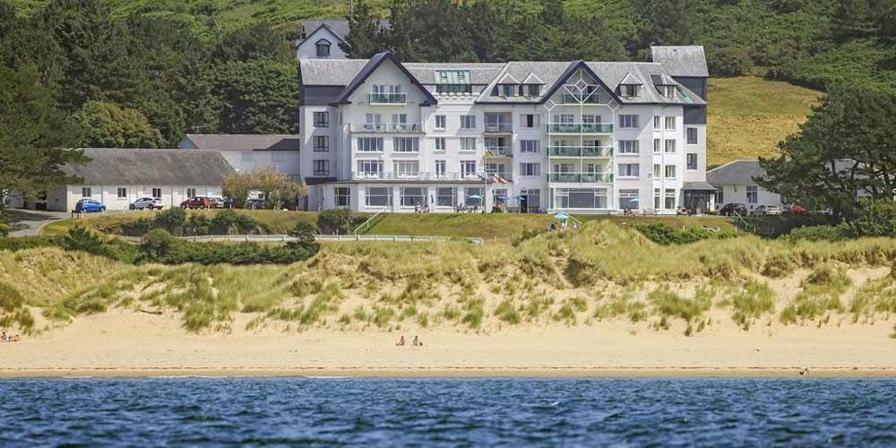 Top UK family hotels for late summer breaks with kids Treffedian Hotel West Wales
