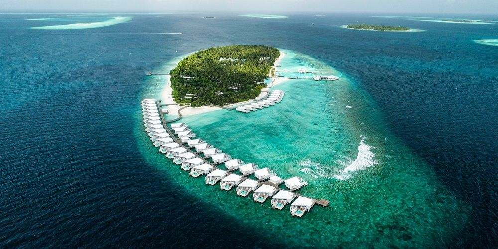 Maldives coral island atolls most Instagrammable destinations Indian Ocean