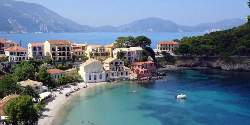 Greek island holidays