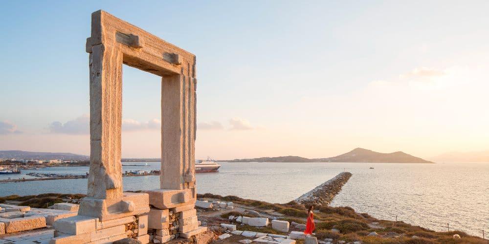 Greek island activity holidays Naxos walking, cycling, exploring