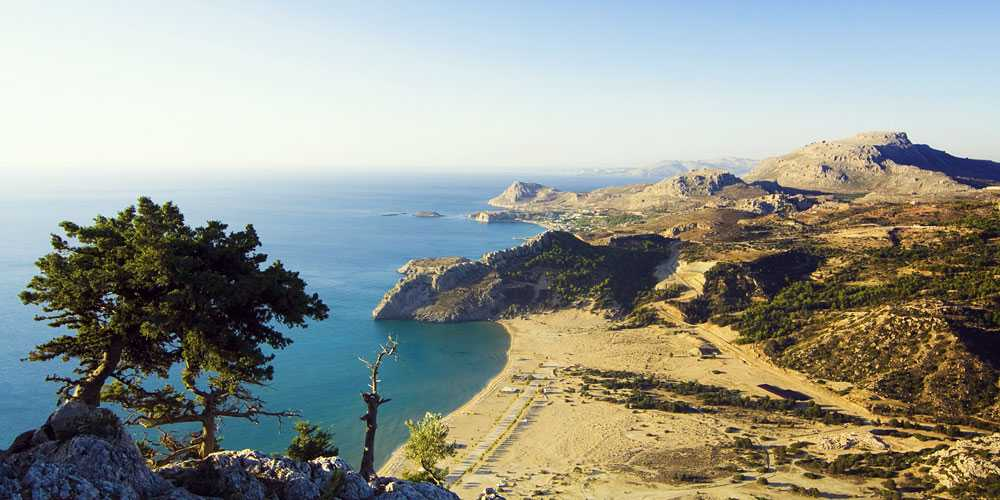 Best family friendly beaches in Greece Rhodes