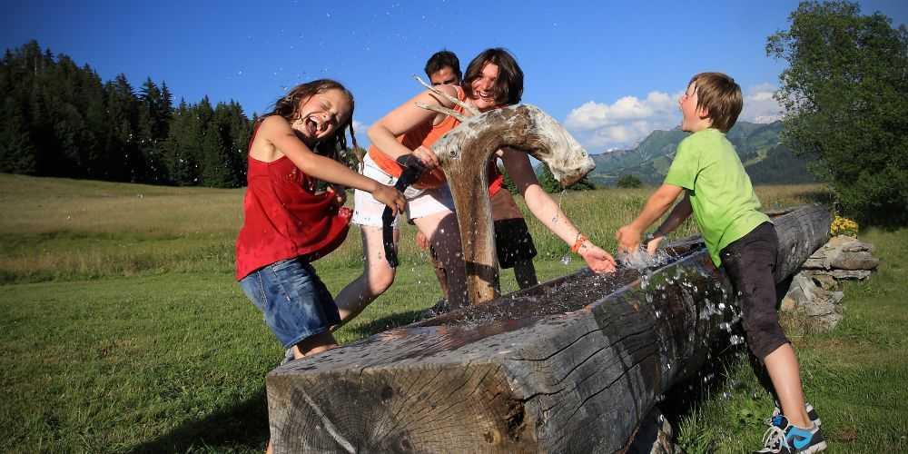 fun family holidays France Les Gets Bike Park Haute-Savoie summer