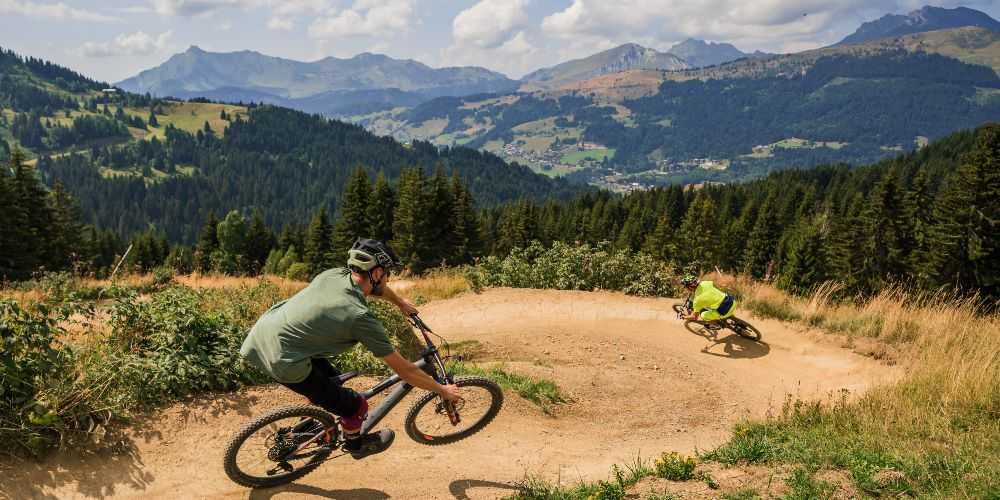 family summer holidays France Les Gets Bike Park mountain biking Haute-Savoie
