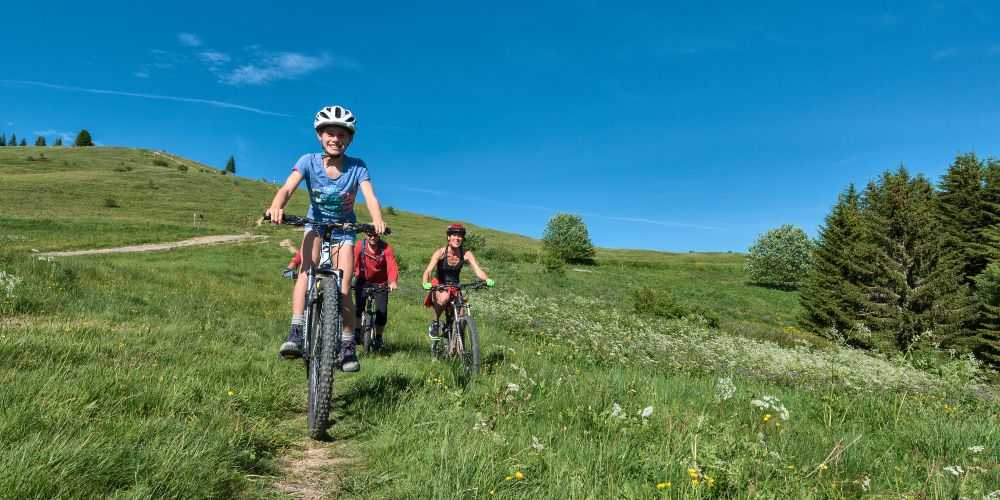 Les Gets Bike Park Haute-Savoie family summer holidays French Alps