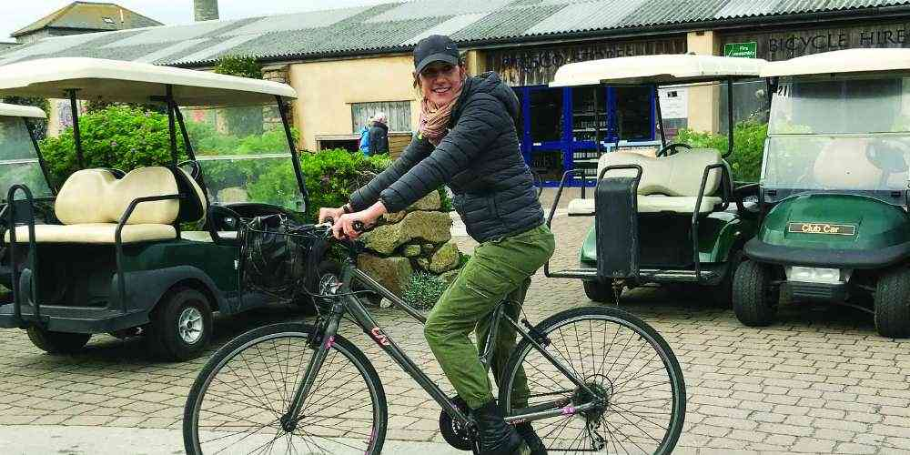 Tresco Island safe family cycling holidays