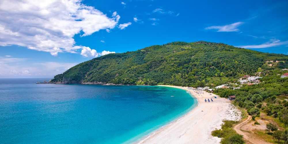 family summer holidays in Greece Syvota Ionian Fjord Epirus
