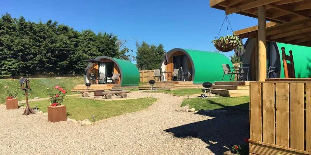 Vrbo family holidays homes Inverness Glamping Pods