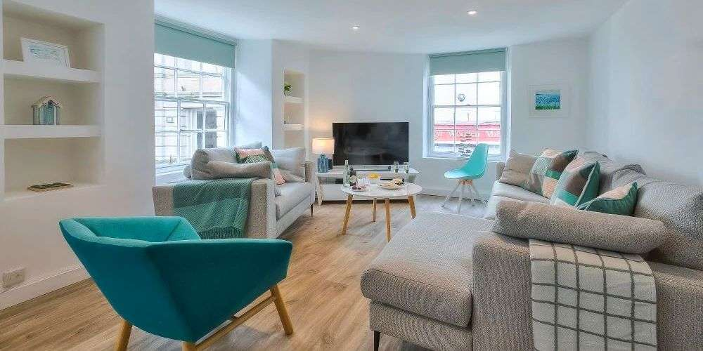 Vrbo dream family holiday homes Shell Seekers Central St Ives apartment Cornwall