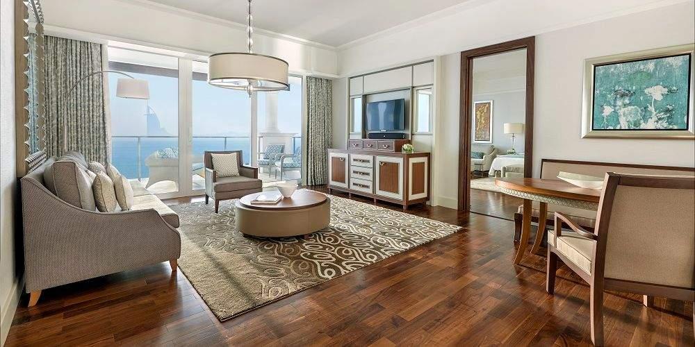 Dubai family holidays Waldorf Astoria two bedroom family suite