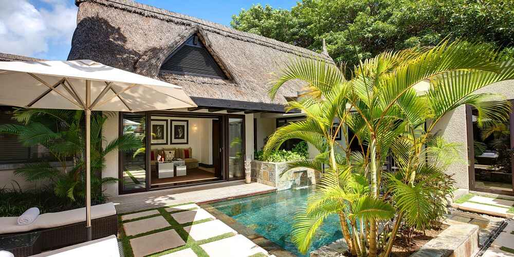 Mauritius family holidays LUX Belle Mare Resort and Villas family villa east coast Mauritius