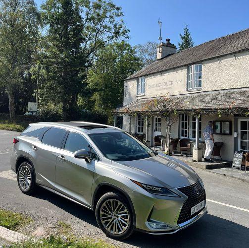 multi gen family road trip, Lexus RX L, Lexus test drive