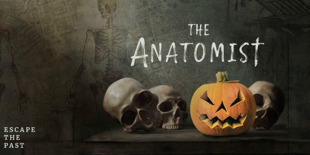 Escape The Past The Anatomist Edinburgh October family events 2021