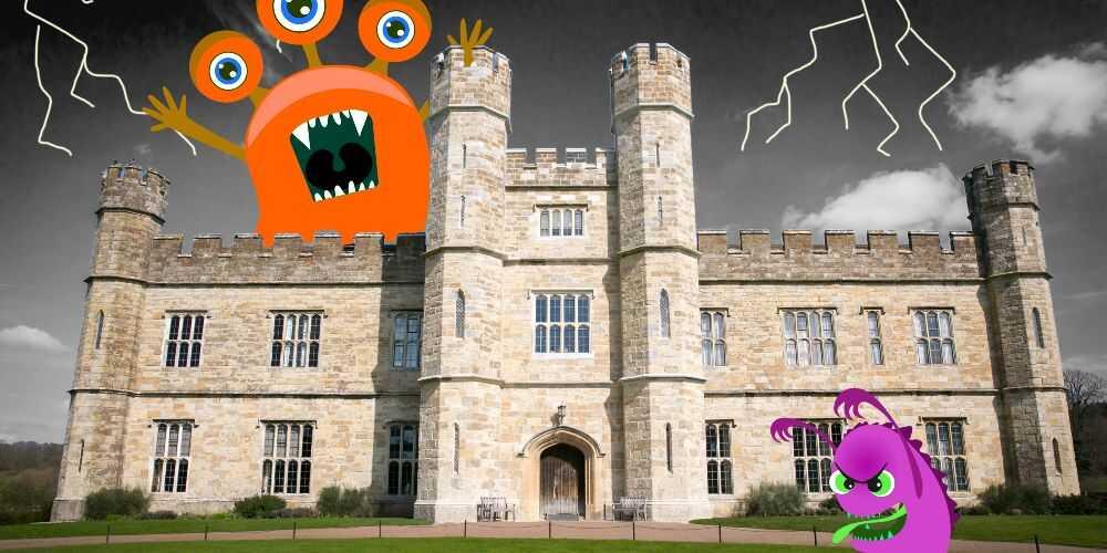 Leeds Castle Kent Halloween 2021 October family events UK