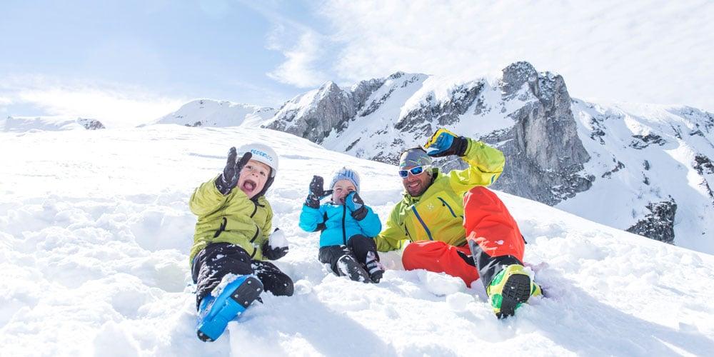 family winter holiday, Northern Italy, family ski holidays