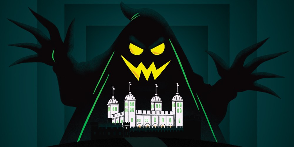 Tower of London Ghost Raiders October family events London