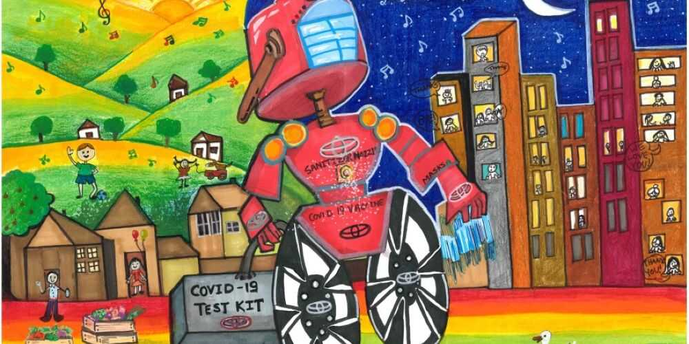 art competition, kids art competition, Toyota Dream Car Contest 2022