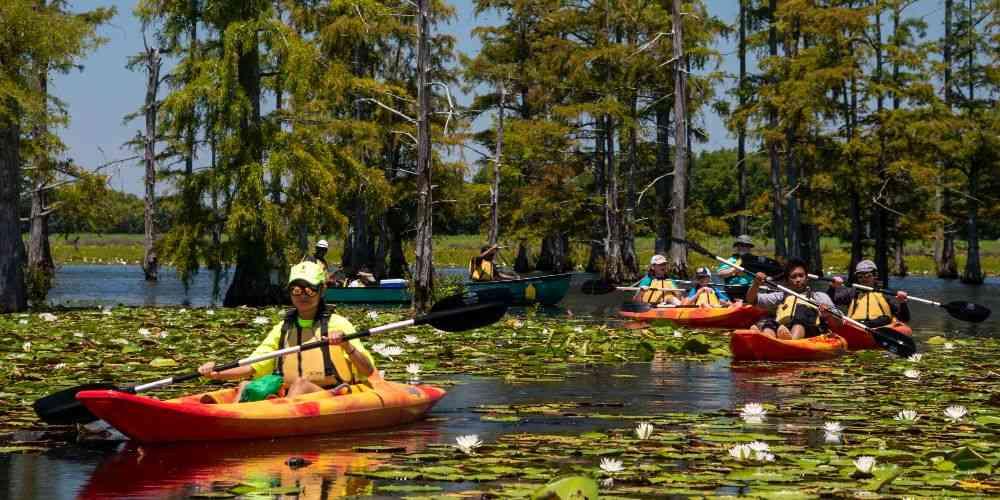 Arkansas family vacation Cane Creek Kayaking Canoeing Lotus
