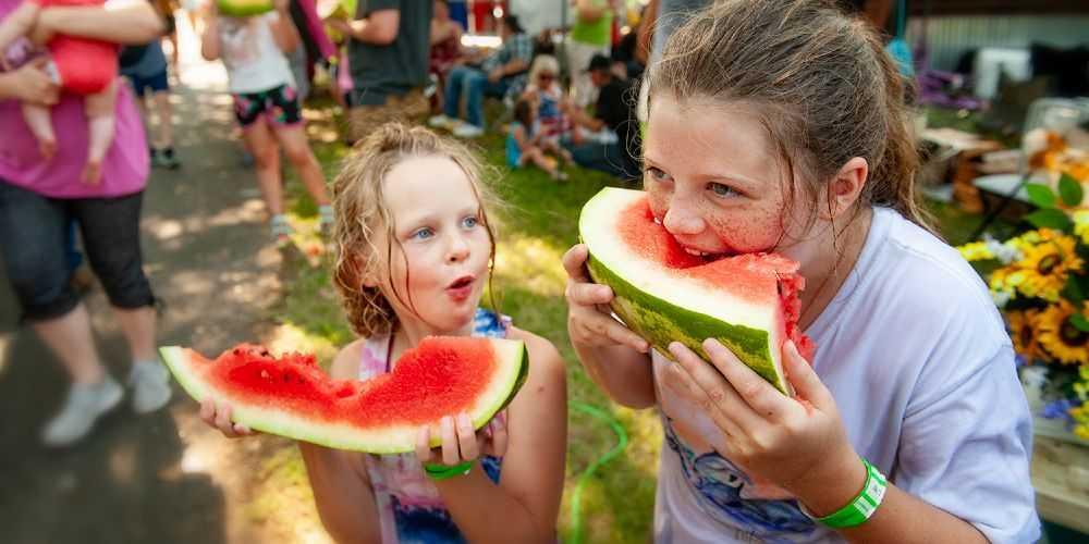 Arkansas family road trip Cave City Watermelon Festival 2021 Arkansas